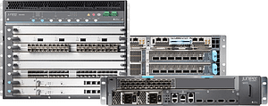 Branch, edge and core routers