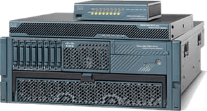 Firewall and VPN security appliances