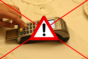 An internet outage often means CASH only. No credit nor ATM card transaction can be processed