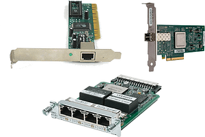Network router modules and interfaces