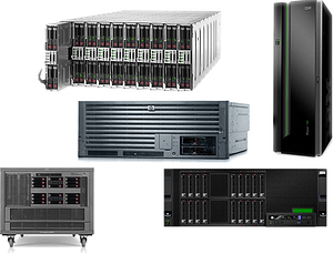 Afforbable high-powered-computing (HPCS) enterprise servers from HP and IBM