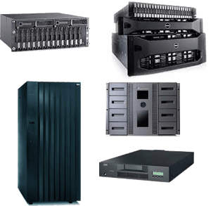 Systèmes de stockage de données neufs, remis à neufs et usagés de HPE, IBM, Lenovo, DellEMC et autres à prix abordables