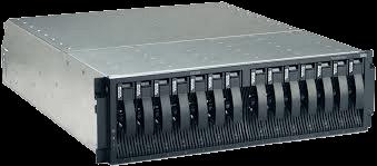 Système de stockage en colonne de disques redondants (RAID disk array) IBM/Lenovo DS300