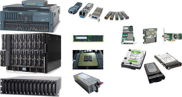 We buy and sell IT hardware products from market leaders such as Cisco, Juniper, HPE, IBM, Lenovo, DellEMC and many more